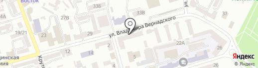 Glянецъ shoese на карте Днепропетровска