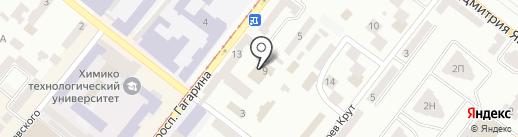 ART SPORT на карте Днепропетровска