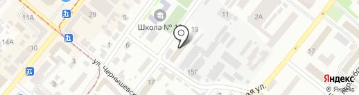 Эковизион на карте Днепропетровска