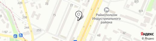 Окна WDS на карте Днепропетровска