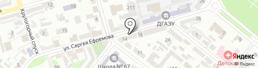 DEKOR AVENUE на карте Днепропетровска