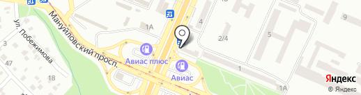 КАПИТАЛ, ПО на карте Днепропетровска
