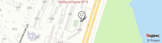 Нотариус Терещенко Н.С. на карте Днепропетровска