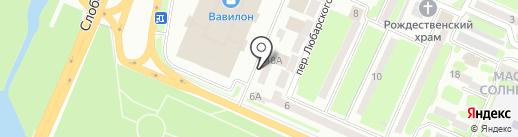 Humana на карте Днепропетровска