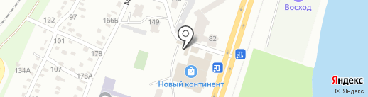 ШАТЕР на карте Днепропетровска