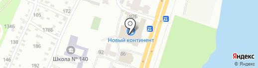 Гермес на карте Днепропетровска
