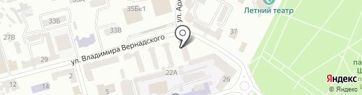 Architect на карте Днепропетровска