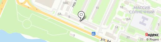 Аптека №1 на карте Днепропетровска