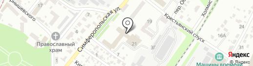 Сорока-Белобока на карте Днепропетровска