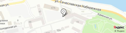 Хаббл Баббл на карте Днепропетровска