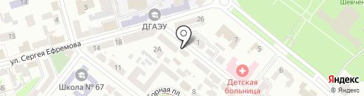Secret на карте Днепропетровска