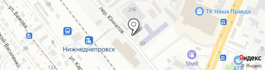 СТА на карте Днепропетровска