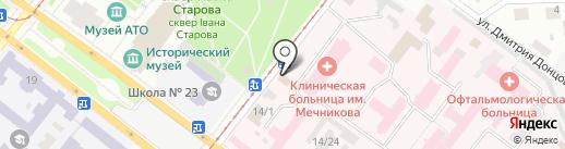 Кондитерські вироби на карте Днепропетровска