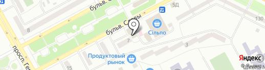 Волшебник на карте Днепропетровска