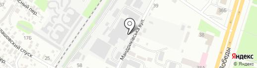 Бесплатный общественный туалет на карте Днепропетровска