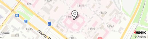 Дніпропетровська обласна клінічна лікарня ім. І.І. Мечникова на карте Днепропетровска
