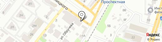 Інтертелеком, ТОВ на карте Днепропетровска