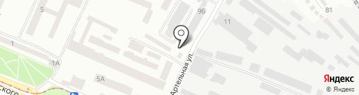8 цилиндров на карте Днепропетровска