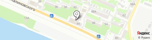 Гелиос на карте Днепропетровска