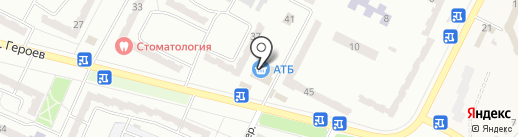 Оріон-Т, ПТ на карте Днепропетровска