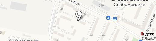 Абонентський відділ Індустріального району на карте Юбилейного