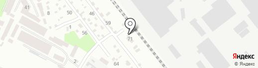 Промтехкомп на карте Днепропетровска