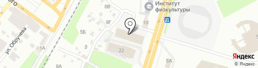 АИС Автоцентр Днепр на карте Днепропетровска