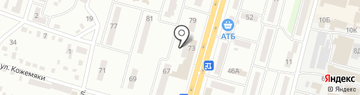 АТМоСфера на карте Днепропетровска