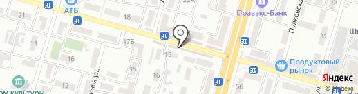 Экзотика на карте Днепропетровска