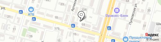 От 5 и выше на карте Днепропетровска