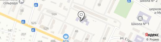Дошкільний навчальний заклад №6 на карте Юбилейного