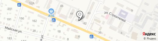 Дніпропетровський науково-дослідний та проектний інститут землеустрою на карте Днепропетровска