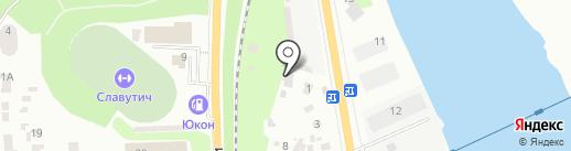 Автосервис на карте Днепропетровска