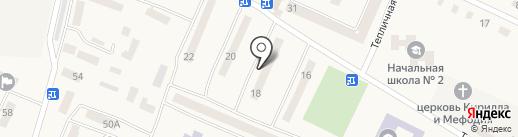 Житлово-експлуатаційна контора-1 на карте Юбилейного