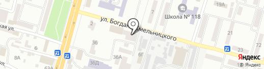 Кулинария на карте Днепропетровска