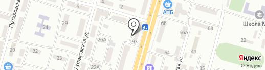 Реон Мед на карте Днепропетровска
