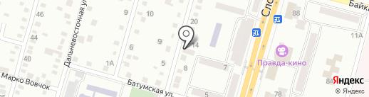 Душица на карте Днепропетровска