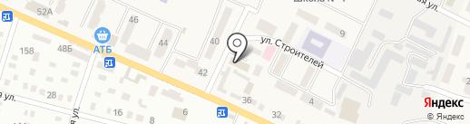 Дніпропетровський районний відділ ГУМВС України в Дніпропетровській області на карте Днепропетровска