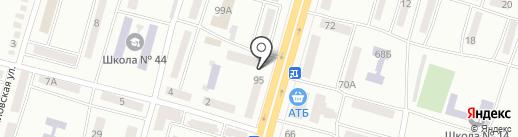 Мастерская на проспекте Газеты Правда на карте Днепропетровска