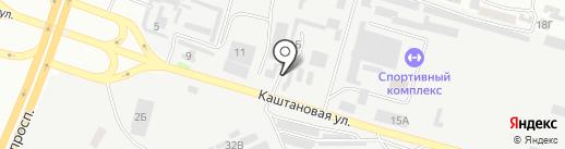 АКС и К на карте Днепропетровска