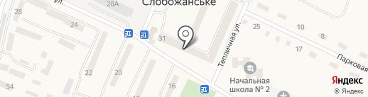 Управління Пенсійного фонду України в Дніпропетровському районі на карте Юбилейного