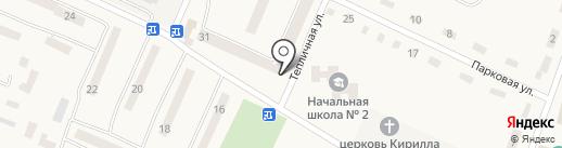Зоря Дніпропетровська на карте Юбилейного