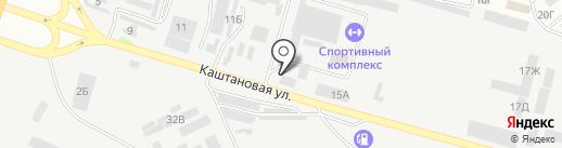 Сервіс-Тест на карте Днепропетровска