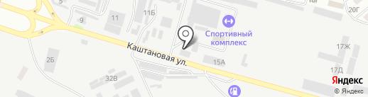 Дорожная карта на карте Днепропетровска