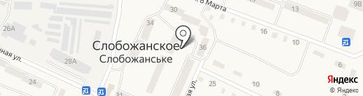 Крамниця на карте Юбилейного