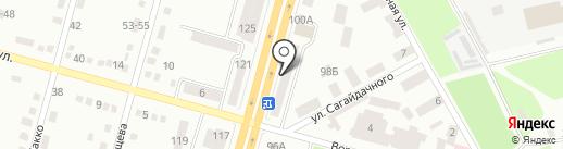 Студия красоты на проспекте Газеты Правда на карте Днепропетровска