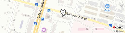 Аптека 03 на карте Днепропетровска