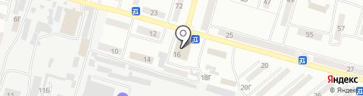 Адвокат Коврига В.Н. на карте Днепропетровска