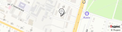 Управління Державної казначейської служби України у Дніпропетровському районі на карте Юбилейного