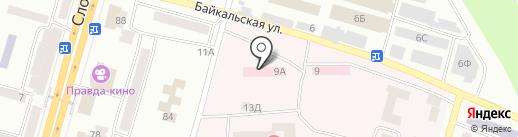 Вис-медик на карте Днепропетровска